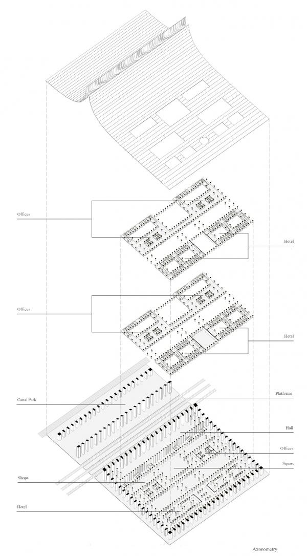 Высокоскоростная пагода © Atelier_62 / предоставлено ISOPAN RUS