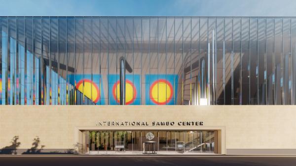 Международный центр самбо, Центр бокса на территории Олимпийского комплекса «Лужники», Хамовники UNK project