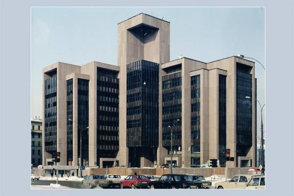 Общий вид комплекса. 1993 г. Предоставлено Ф.А. Новиковым