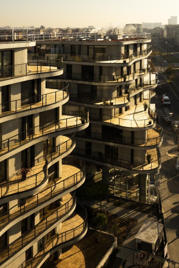 Жилой комплекс Courbes Фото © Fernando Guerra (FG+SG)