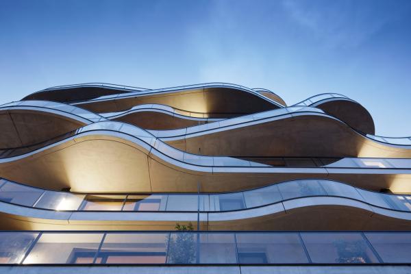 Жилой комплекс Courbes Фото © Takuji Shimmura