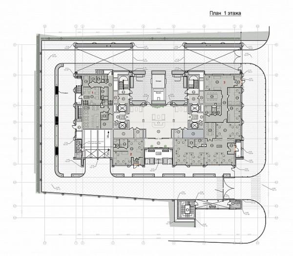 ЖК Оливковый дом © Архитектурная мастерская «ГРАН» (Мастерская Павла Андреева)
