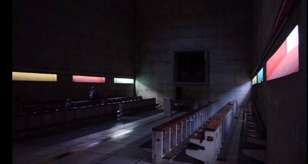 Монастырь Ля Туретт Изображение из фильма студии Spirit of Space