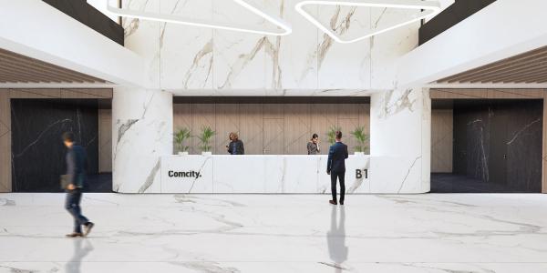"""Фаза Браво. Офисный комплекс """"COMCITY"""" © АМ Сергей Киселев и Партнеры"""