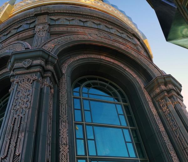 Главный храм Вооруженных сил РФ © предоставлено «ОРТОСТ-ФАСАД»