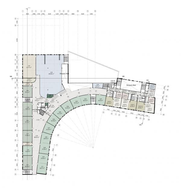 Школа – ДОУ в ЖК «Испанские кварталы» © Архитектурное бюро ASADOV