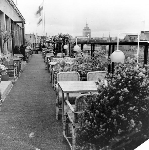 Ресторан Savoy в 1937 году © Artek