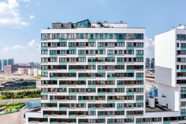Жилой комплекс «Лица» Фотография © Константин Антипин / предоставлено ТПО «Резерв»