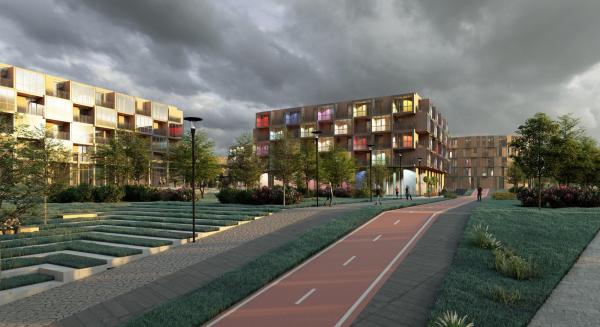 Кампус университета ИТМО. Общежития © Студия 44