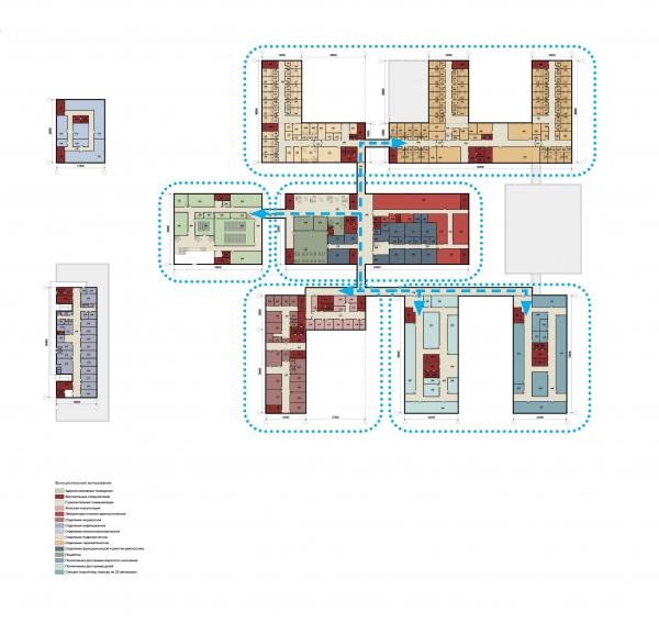 Конструктор здоровья. План второго этажа © UNK project