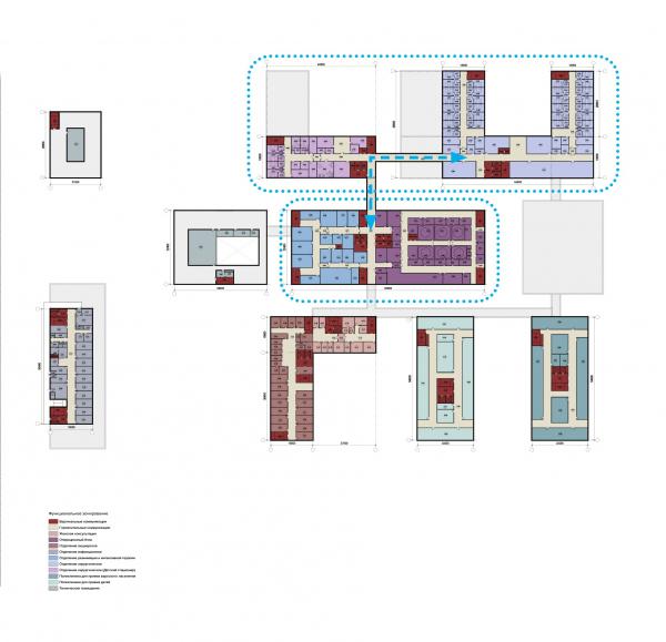 Конструктор здоровья. План третьего этажа © UNK project