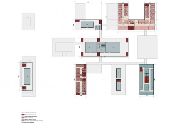 Конструктор здоровья. План четвертого этажа © UNK project