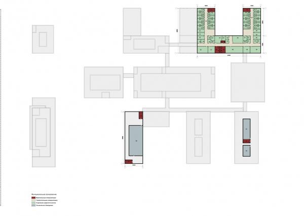 Конструктор здоровья. План пятого этажа © UNK project