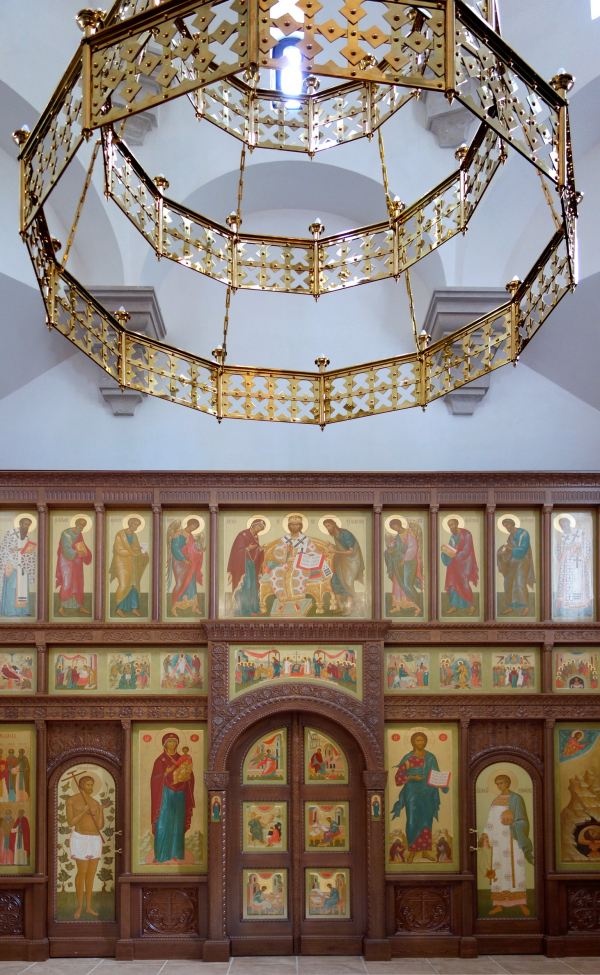 The inside space. Church of the Beheading of John the Baptist at the Novodevichy Convent Copyright: © Utkin Studio