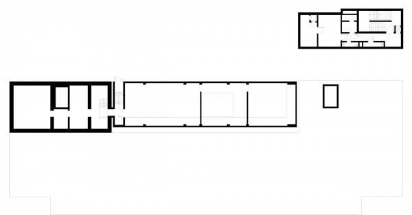 План техподполья. Детский хоспис «Дом с маяком» © IND Architects