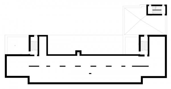План техического чердака. Детский хоспис «Дом с маяком» © IND Architects