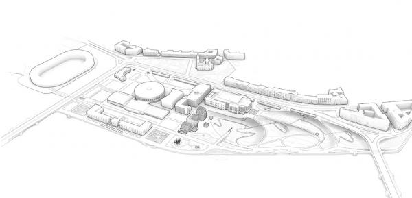 Романтический парк «Тучков буян». Скульптурная топография © Студия 44, West 8