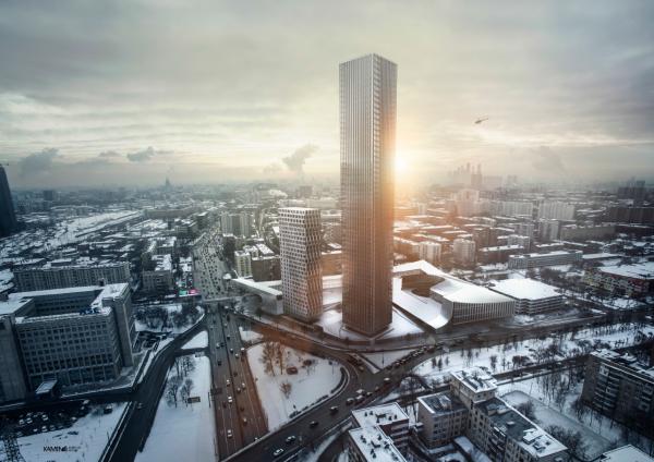Жилой комплекс D1 © KAMEN Architects & ГК «ОЛИМПРОЕКТ»