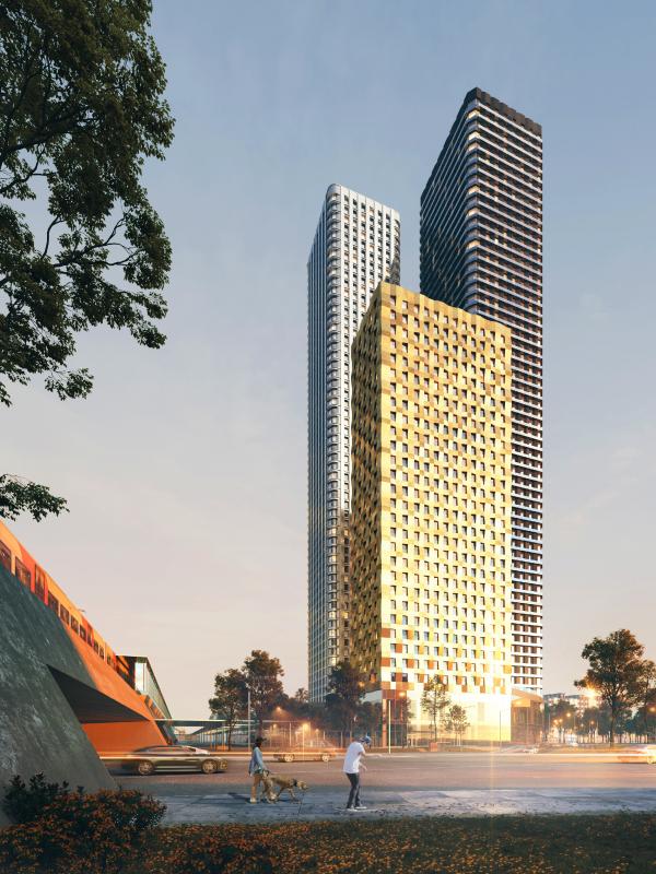 Жилой комплекс D1 © KAMEN Architects