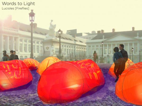 Words to Light – Lucioles [Fireflies] (Слова света – Светлячки) © Xingyu Chen, Matteo, Giglio, Ghil Meynard, Noëlie Seguet-Pey, Nicolas Salha, Raphaël Pletinckx, Hiba Nasser, and Ghil Meynard / предоставлено VELUX
