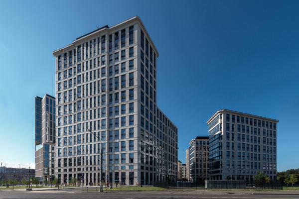 Многофункциональный комплекс «ВТБ Арена Парк», 12 корпус Фотография © Алексей Народицкий