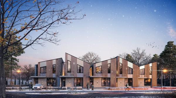 Проект жилой застройки в казанском Иннополисе © T+T architects