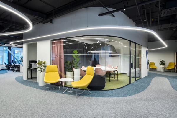 Центр компетенций КЭПиИЗО Архитектурное бюро ATRIUM. Фотография предоставлена проектом OfficeNEXT