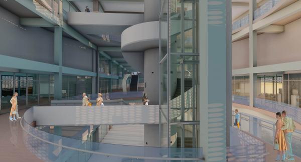 Образовательно – исследовательский центра интеграции новейших технологий в области современного искусства и медиа развлечений «Маякуша» © Денис Омельченко