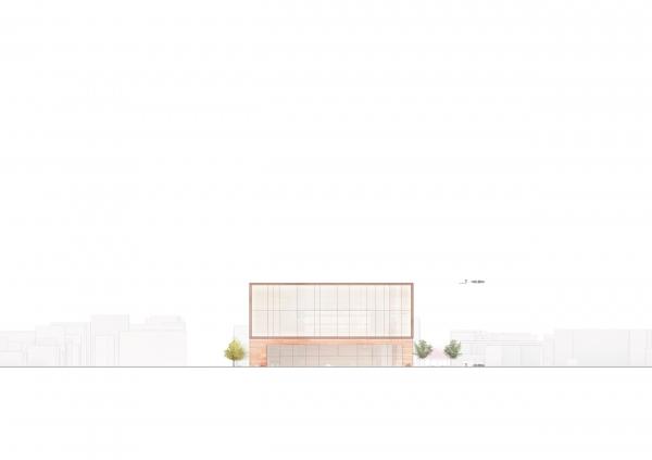 Новая ратуша Чхонджу © Snøhetta