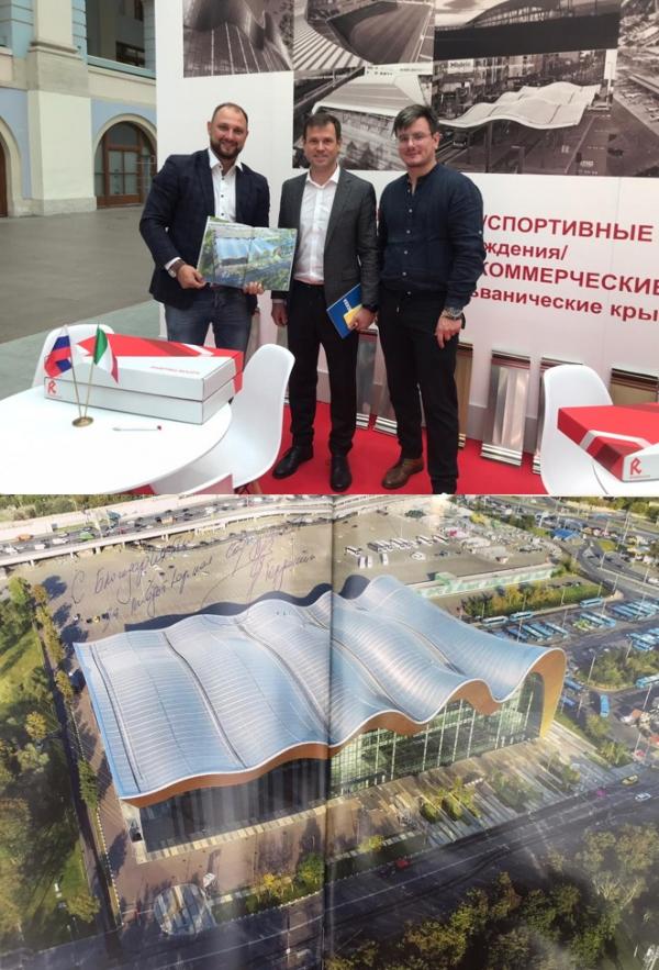 Выставка АРХ Москва 2020 «Архитектура-искусство» Фото предоставлено компанией Riverclaсk
