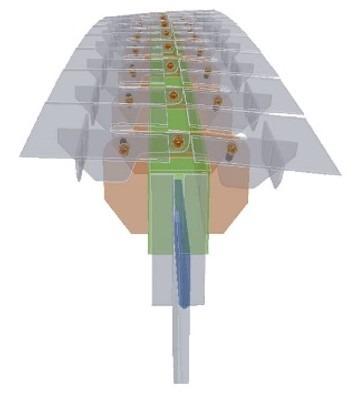 Система формообразующих кронштейнов Предоставлено компанией Riverclaсk