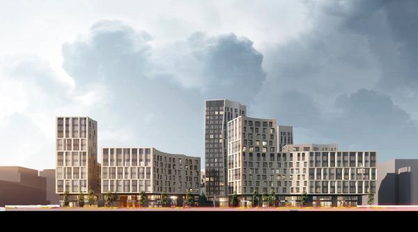 Жилой комплекс в Астане, проект, 2018 © ATRIUM