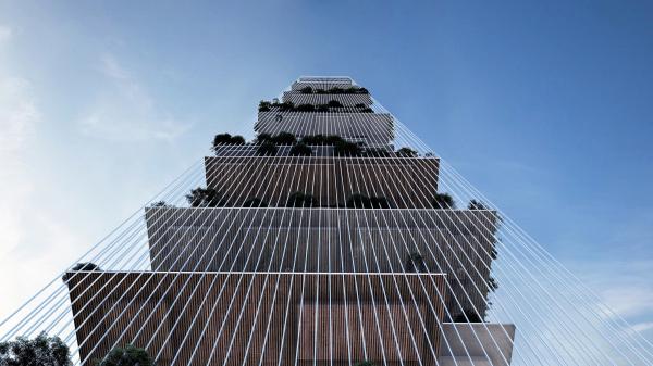 Проект «Небесные Линии» (Skylines) Изображение © Lissoni Casal Ribeiro