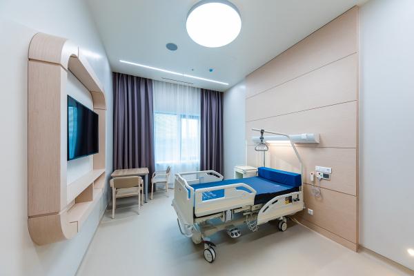 Вторая очередь клинического госпиталя «Лапино» в Одинцовском районе МО Капспройсити / Предоставлено пресс-службой BIF