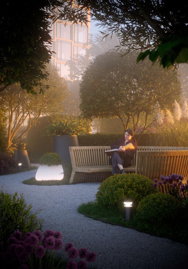 Secret garden. HIDE Housing Complex Copyright: © ADM