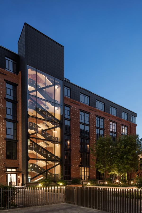 Комплекс апартаментов «Большевик»  Фотография: предоставлена IND Architects