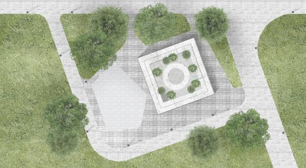 Павильон садовой школы для парка Дружбы в Гюмри IND architects