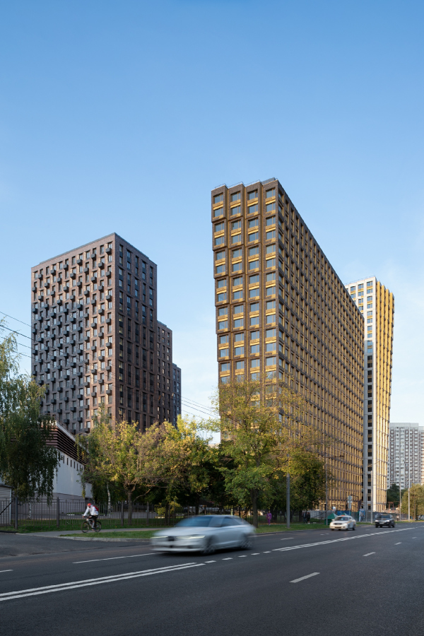 Discovery housing complex Copyright: Photograph © Yaroslav Lukyanchenko / provided by ADM architects