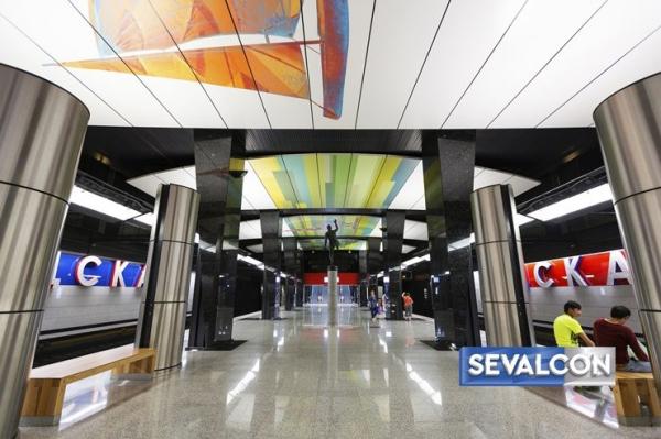 Станция метро «ЦСКА» Предоставлено SEVALCON