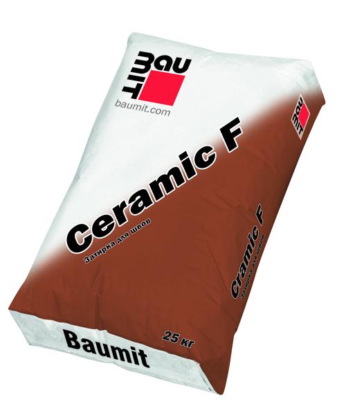Затирка Baumit Ceramic F Baumit