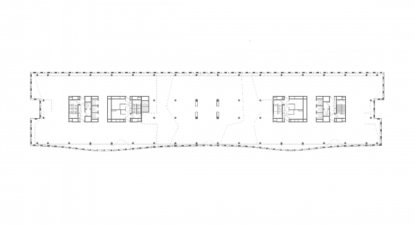 Plan of the 3rd floor. Alcon II business center on leningrad Avenue Copyright: © ADM