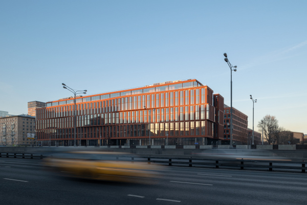 Alcon II business center on leningrad Avenue / <noindex><a href=