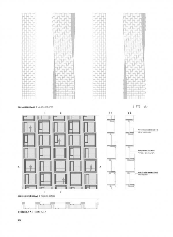 The facades. HIDE Housing Complex Copyright: © ADM