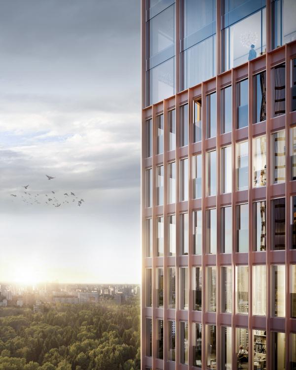 Symphony 34 housing complex Copyright: © Kleinewelt Architekten