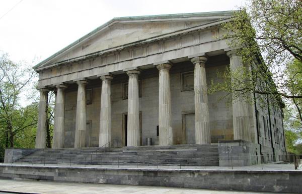 Здание Второго банка США в Филадельфии Фото: Beyond My Ken via Wikimedia Commons. Лицензии Creative Commons Attribution-Share Alike 4.0 International, 3.0 Unported, 2.5 Generic, 2.0 Generic, 1.0 Generic