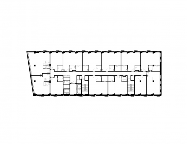 STORY apartment complex. Plan of the 9th floor Copyright: © TPO Reserve
