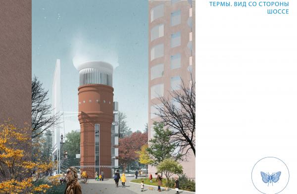 Водонапорная башня © Citizenstudio