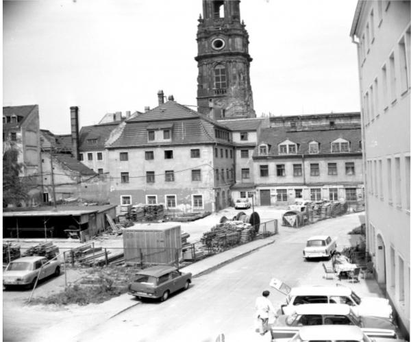 Район, Иннере Нойштадт, 1980-е, архив отдела генерального планирования города Дрездена / 2011, Малько А. © Изображения предоставлены Анастасией Малько