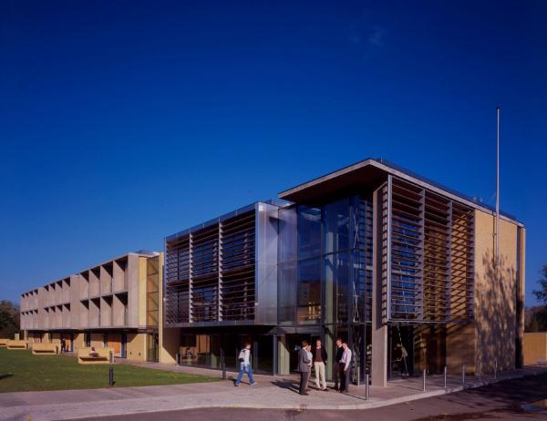 Колледж Св. Катерины в Оксфорде, расширение, 2005 Предоставлено: Andy Snow