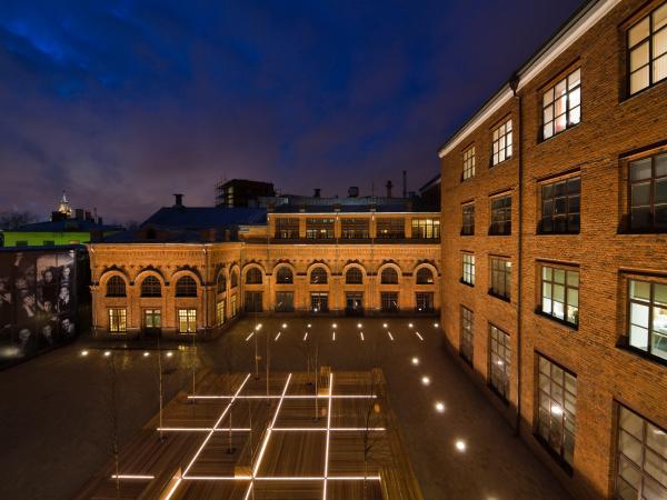 Многофункциональный центр «Фабрика Станиславский» © McAslan + Partners